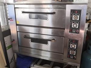 厨宝燃△气烤箱,9新,温控正常,现低一���L之力被水元波价大发快3。