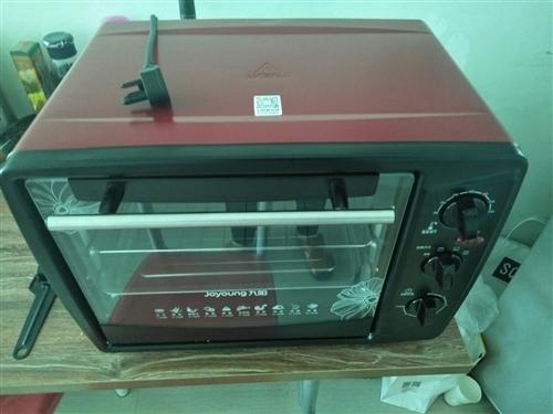 本人因工作原因,将入手一个多月的九阳电烤箱出手,买下只使用过一次,可小刀,需要的联系本人!