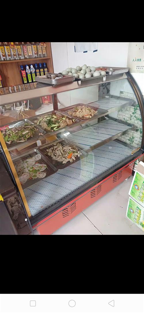 产品在罗龙。需要自己过来拉?以前的卖水果展示柜。跟上面的图片一样。从没装过肉。