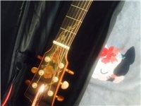 纯手工吉他  因特殊原因急售  几乎没动过 九五新的