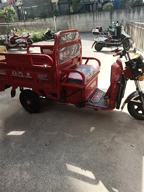 本人因外出有事,刚买的电动三轮车现在转手,原价3500,六组电瓶,只开了七八天,现在3000出售,需...