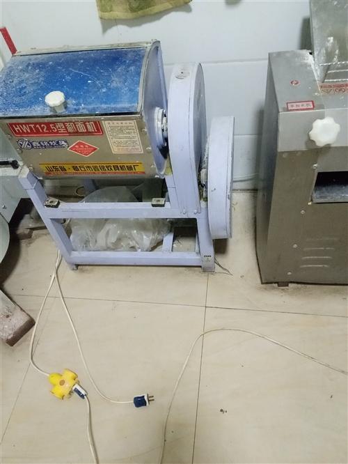 九成新电饼档,和面机,揉面机出售,价格优惠,有需要者电话联系