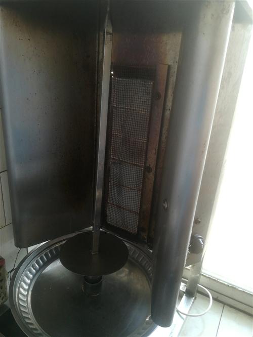 燃气自动旋转烤肉机