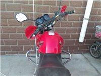 雅馬哈摩托車八成新,跑了13600公里