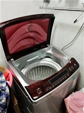 全自动海尔洗衣机一台,六公斤省水,保养良好,是租房的首选。