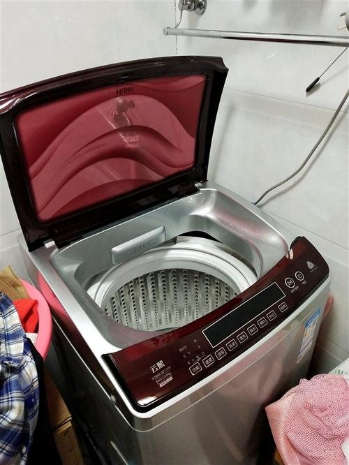 全自動海爾洗衣機一臺,六公斤省水,保養良好,是租房的首選。