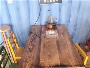 因店��P�]各�N桌椅板凳家具�器低�r出售,五��桌子十五把椅子,�|量好全新�]用多久有意者�系