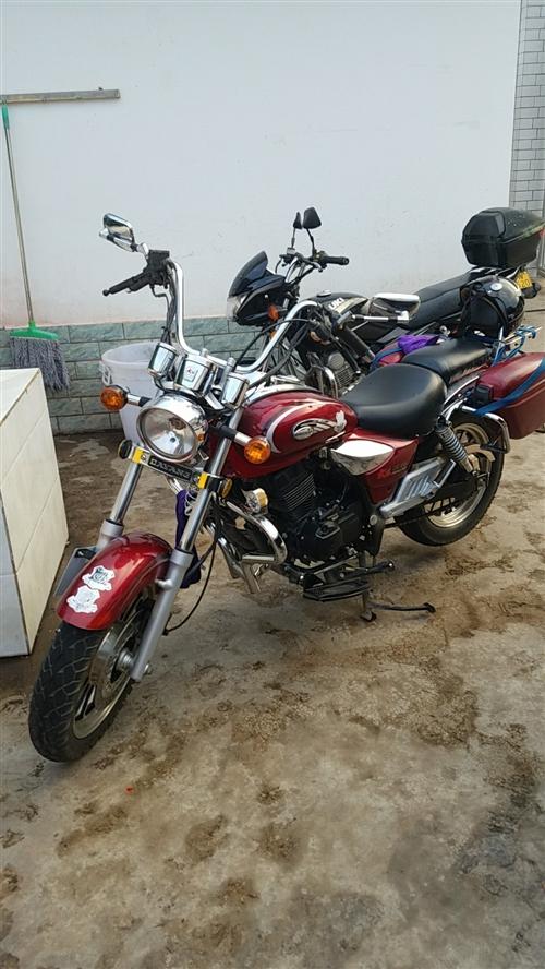 本人有一辆大阳太子150摩托车,成色很好,很少骑保护的很好,没毛病。