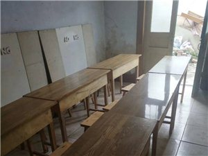 出售课桌,9成新,一桌2椅,40一套