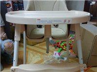 自家宝宝用的餐桌椅  完好无损  有意电话联系