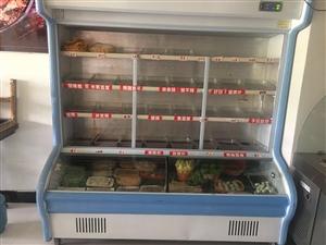 出售在自用菜品展示柜儿,九成新自用一年,无拆无修,价格美丽,联系电话,18132216649。