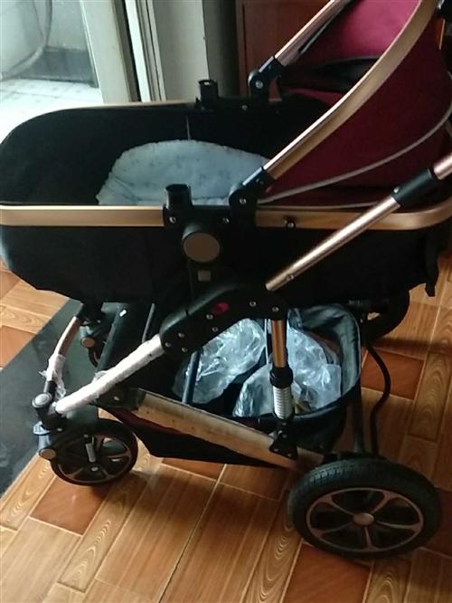 亿宝莱高景观婴儿推车,转给需要的人
