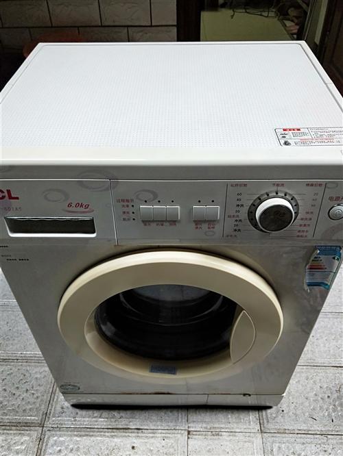 出售TCL 全自动滚筒洗衣机,大容量,成色如图,无暗病,完全正常,需要的联系。