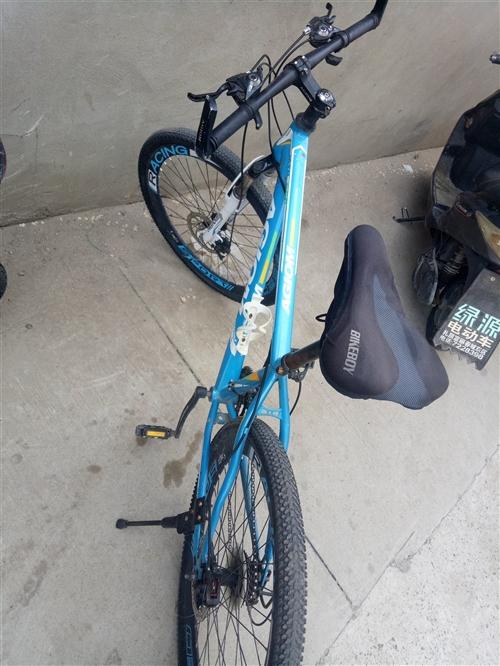 出售自行車,八成新,200就賣
