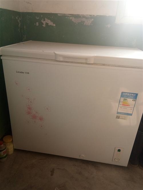 海尔冰柜,9成新