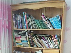 全新实木多功能书桌、书架,低价出售!
