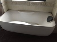 搬家轉讓浴缸和立柱式洗手池,七成新,同城自提,速聯系