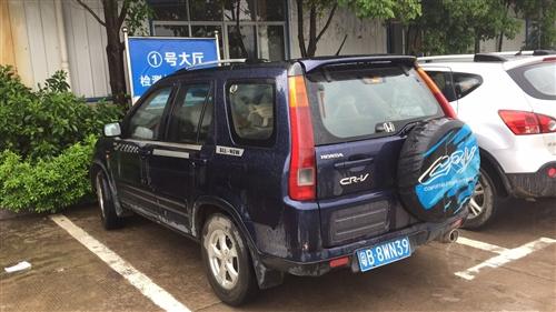 纯进口本田CRV实时四驱,手自一体变速箱,带天窗,
