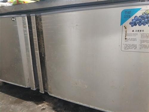急出手四门冰箱,工作冰柜 保温柜 餐饮收银机 汉堡机 裹粉台  价格美丽 欢迎咨询 价格面议