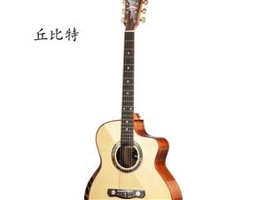 美利达丘比特吉他几乎全新送日本进口琴箱节拍器拨片等包邮 诚心要的可以私信我拍视屏 心血来潮买的,保...