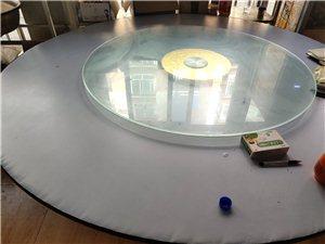 1.8米9层新的圆桌+转玻
