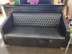九层新皮质感沙发,可门店接待、家用两用!1.6米长!(自取)