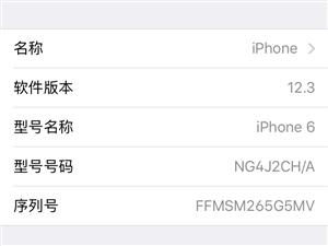 本人出售苹果手机一部。苹果6国行64g成色99新,裸机!无暗病无拆修,需要充电器加50