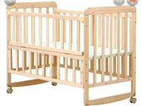 婴幼儿床,可摇,可推,可做书桌