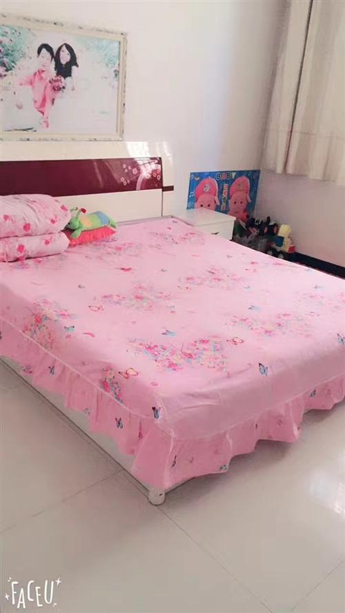 出售九成新床、衣柜
