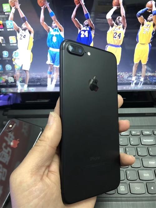 本人自用的蘋果7Plus,換手機了,用不著了,便宜賣。 純原裝,成色9.99新,32G磨砂黑,19...