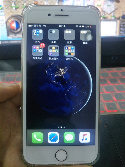 一個蘋果8金色64G和一個蘋果6p64G金,都是國行 手機功能全部正常,成色好,裸機出手無配件 ,...