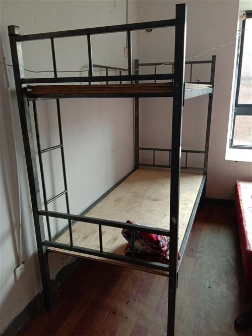 二手雙層鐵架床(打包可優惠)