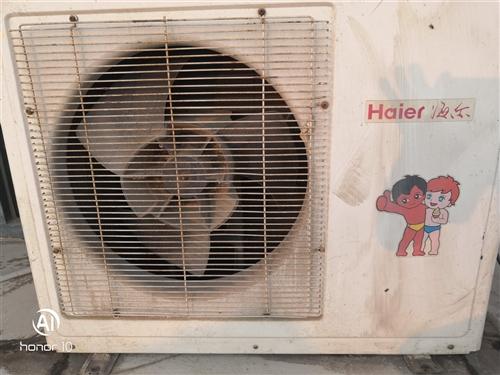 因換水溫空調,現出售海爾三匹空調,有需要的聯系我