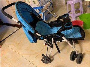 轻便婴儿推车,可坐可躺可折叠 超级轻便的