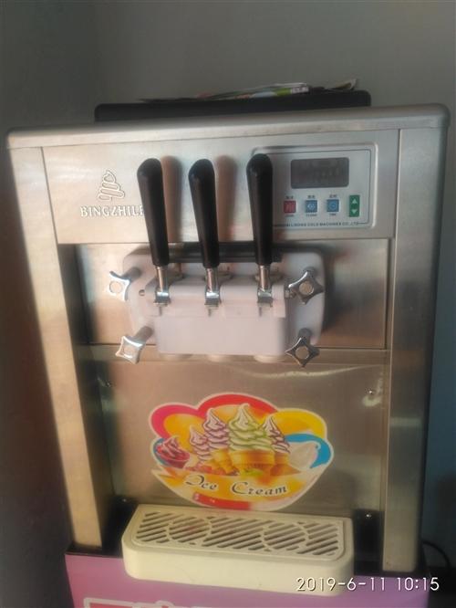 出售冰淇淋机。功能正常。自用