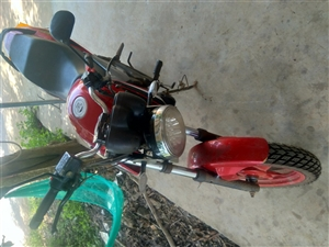 摩托车跑车大阳150 有牌有证 不过户 车在儋州木棠镇上