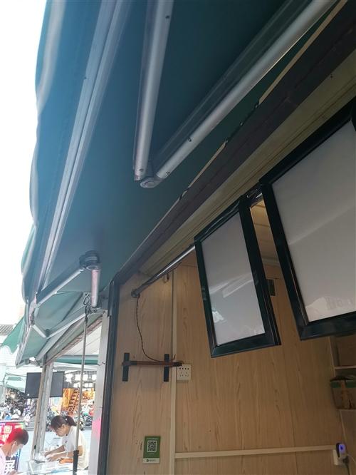 2..3米*1.5米手动伸拉布棚,可装阳台门店等,花一千多刚装三个月,现500转手