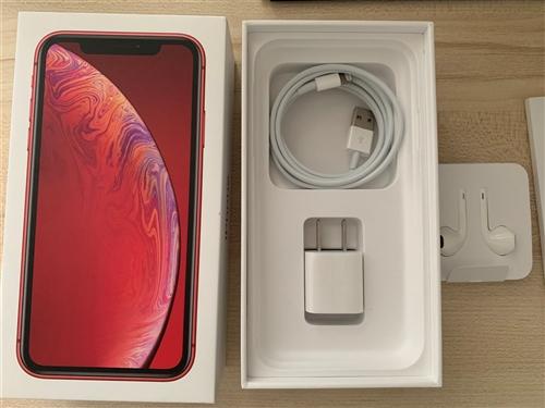 因換手機,現多出一部紅色蘋果XR,國行正版,64G,買來四個月,還有8個月保修期,成色9.9新,無破...