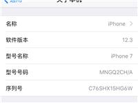 出台苹果7黑色32g  指纹完好   无id锁  全网通   非洲成色  价格美丽。   只要10...