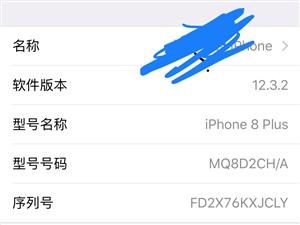 出售自用一部苹果8p 64g 灰色 国行 9成新 需要的联系我电话13076104445过来看手机