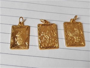 出售黄金吊坠