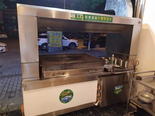 全新2米新款燒烤凈化器,全新星星名牌展示柜。買來沒用便宜處理了。