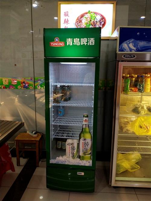 青岛啤酒展示柜