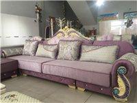 家具店样品处理 欧式实木沙发2300元 3.6米×1.9米 不分左右 给送货 机会难得就一套