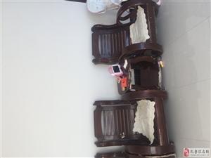 有五人沙發帶茶幾低價出售