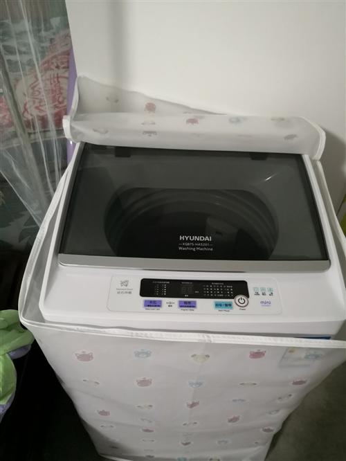 今年四月份才买的新波轮全自动洗衣机,7.5升,只用了两次,现低价出售。