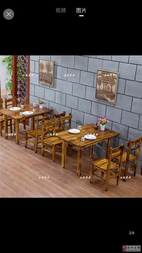 有六套60*120和两套60*60的■餐桌椅转让。 八成新