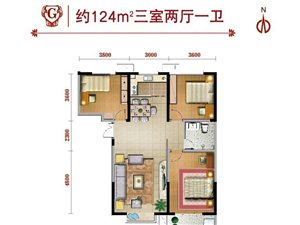 泰和阳光  新县医院南侧300米路东3室 2厅 2卫面议