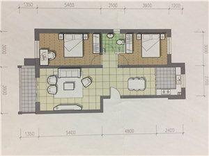 金石园2室 1厅 1卫25万元