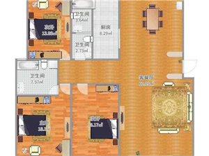 北方中学小区3室 2厅 2卫60万元
